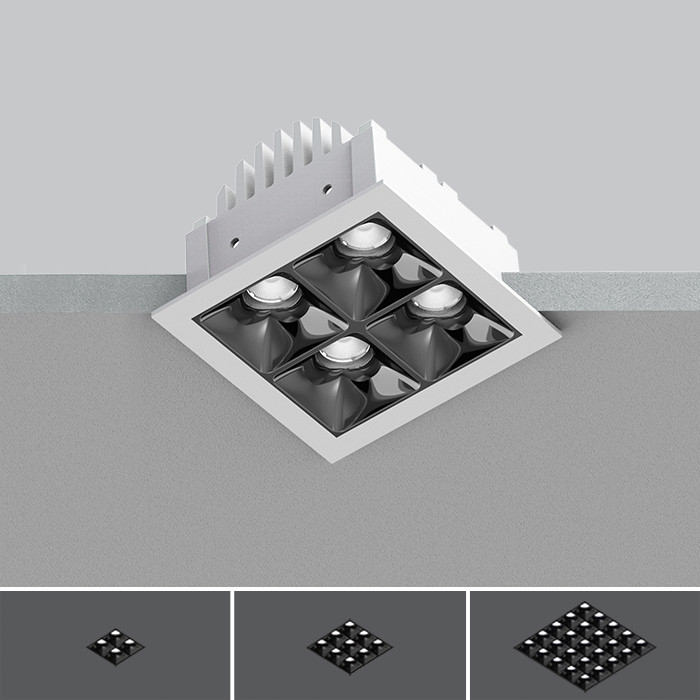 CLUSTERS-RECESSED-PLANAR-DOWNLIGHT