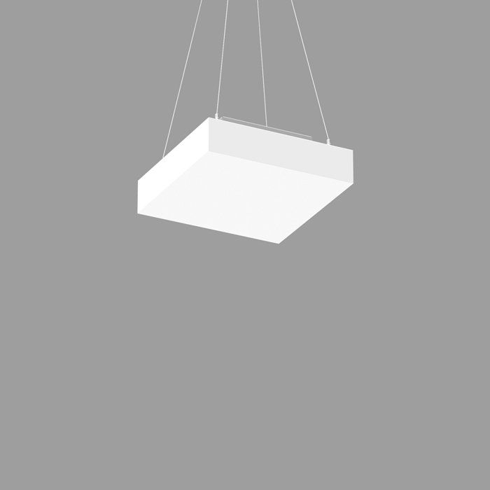 POP CORE 11 SQUARE PENDANT 2.5