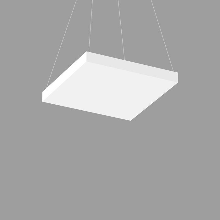 POP CORE 22 SQUARE PENDANT 2.5
