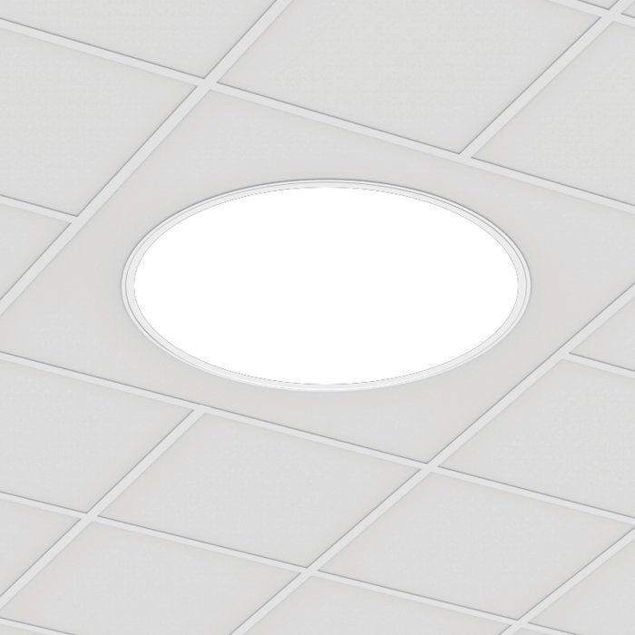 POP RECESSED 36 ROUND Grid FLUSH