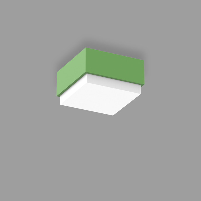 POPCOLOR 11 SQUARE SURFACE 2D GREEN