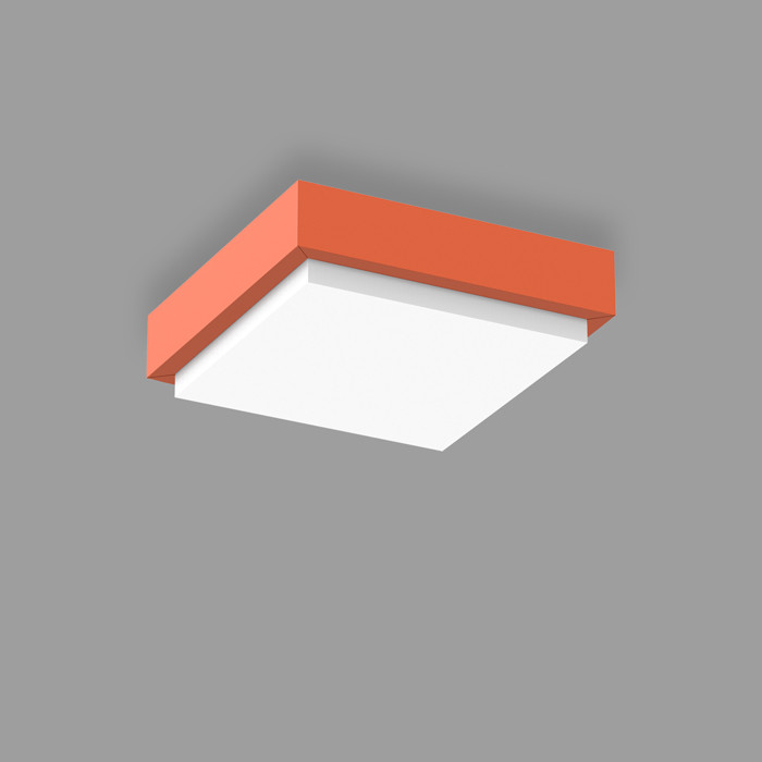 POPCOLOR 22 SQUARE SURFACE 2D ORANGE