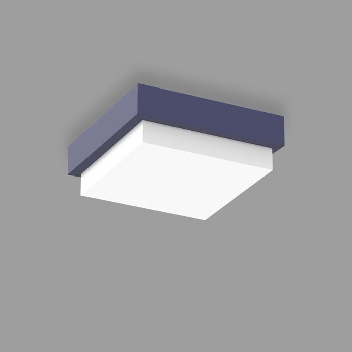 POPCOLOR 22 SQUARE SURFACE 4D BLUE