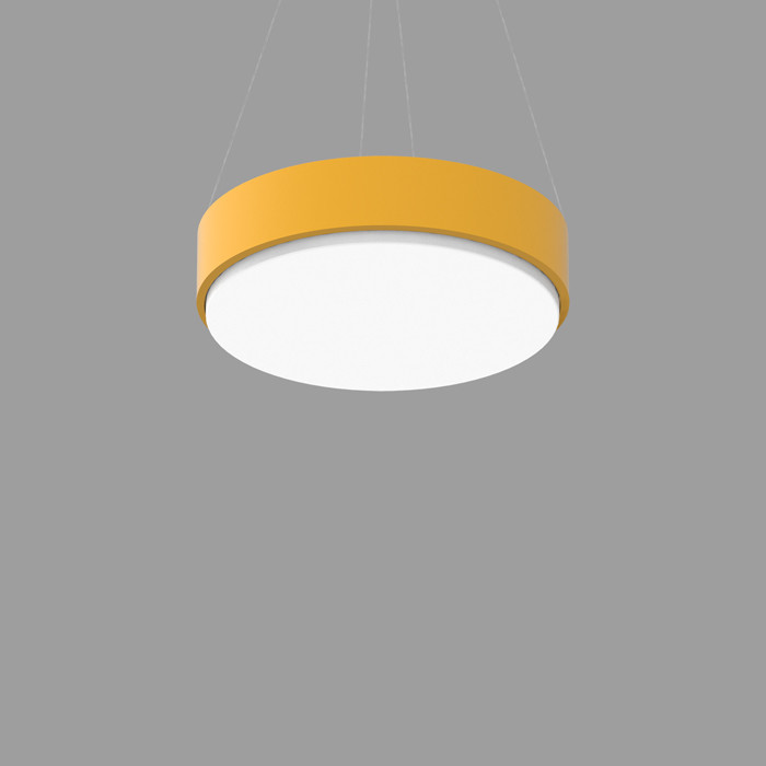 POPCOLOR 24 ROUND PENDANT 1D YELLOW