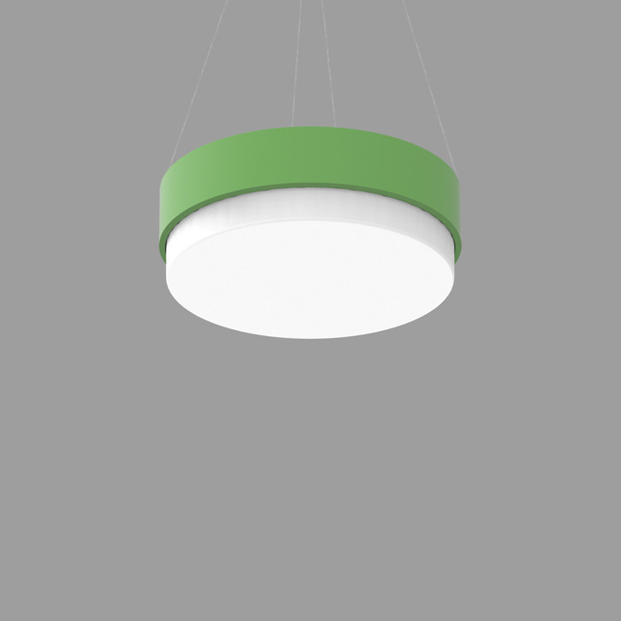 POPCOLOR 24 ROUND PENDANT 3D GREEN