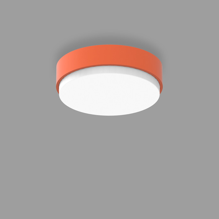 POPCOLOR 24 ROUND SURFACE 2D ORANGE