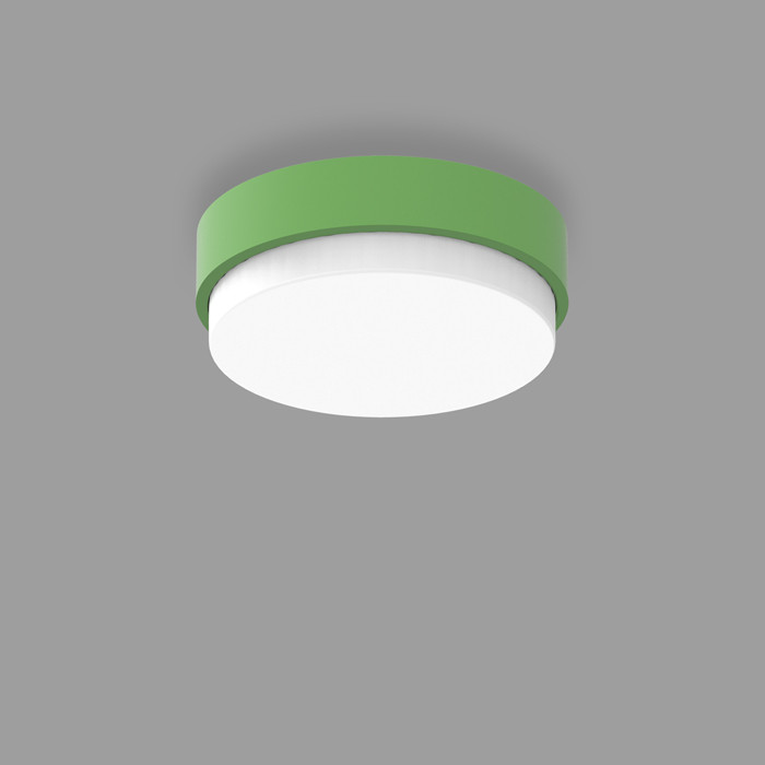 POPCOLOR 24 ROUND SURFACE 3D GREEN