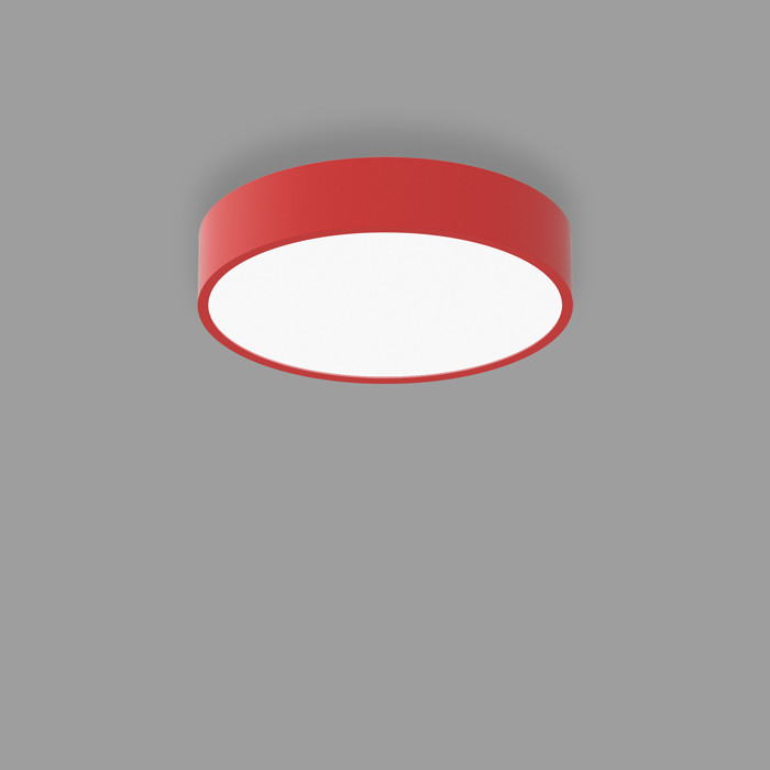 POPCOLOR 24 ROUND SURFACE FLUSH RED