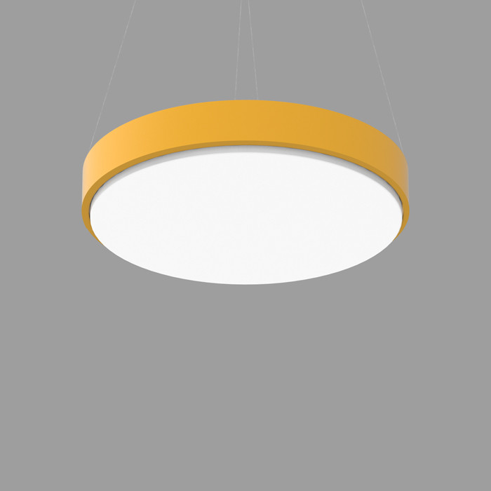 POPCOLOR 36 ROUND PENDANT 1D YELLOW