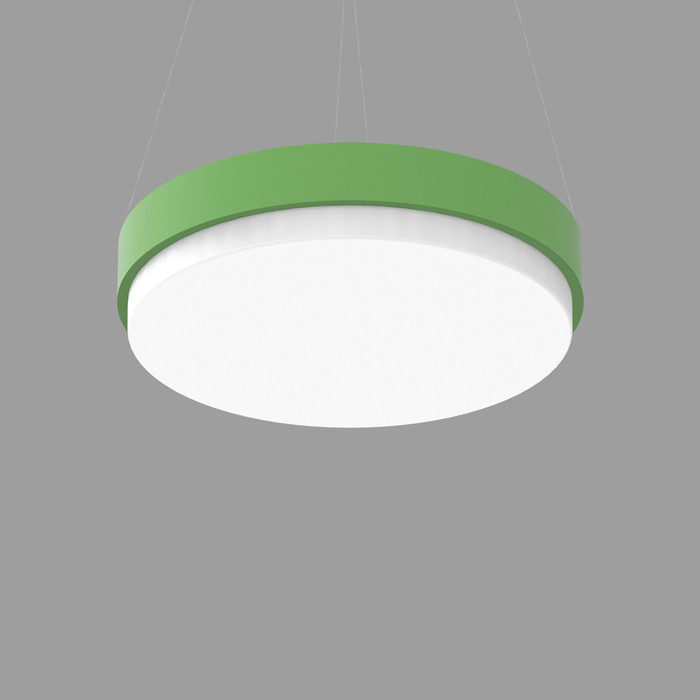 POPCOLOR 36 ROUND PENDANT 3D GREEN