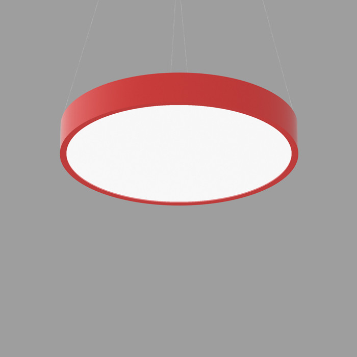 POPCOLOR 36 ROUND PENDANT FLUSH RED