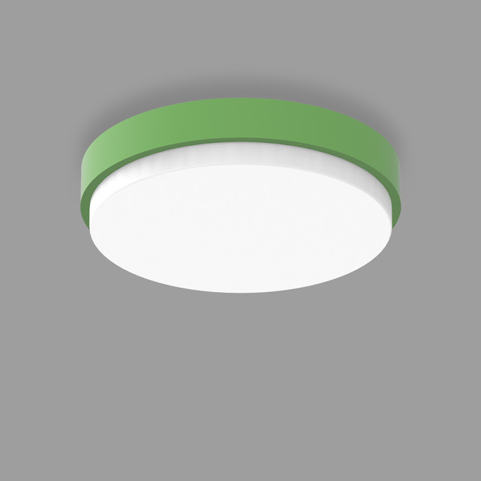 POPCOLOR 36 ROUND SURFACE 3D GREEN