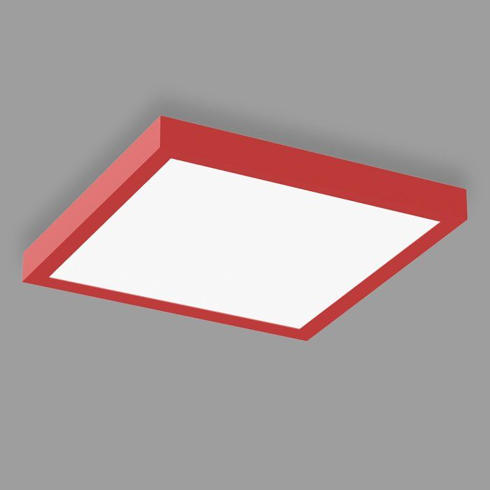 POPCOLOR 44 SQUARE SURFACE FLUSH RED
