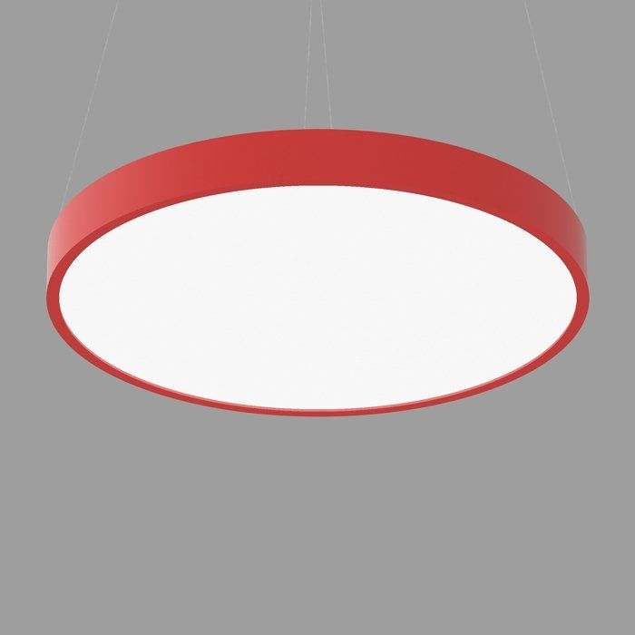 POPCOLOR 48 ROUND PENDANT FLUSH RED