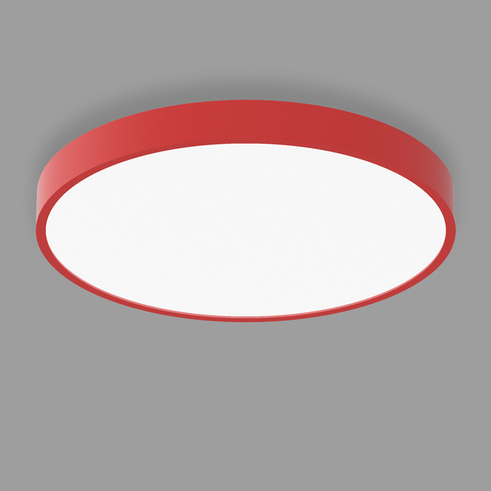POPCOLOR 48 ROUND SURFACE FLUSH RED