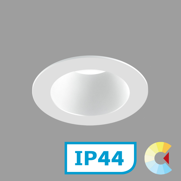 Voila 2 Adj. Downlight<br/>Round Trim Deep
