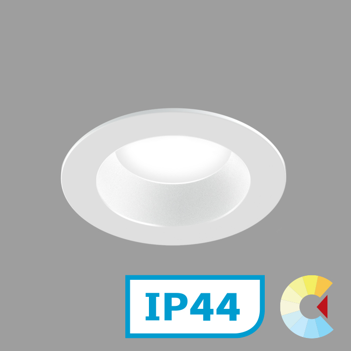 Voila 2 Adj. Downlight<br/>Round Trim Standard