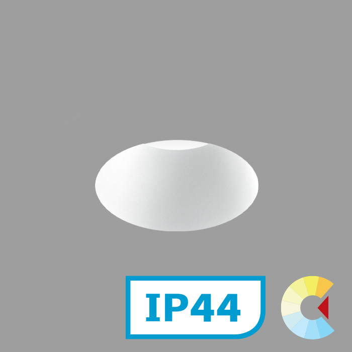 Voila 2 Adj. Downlight<br/>Round Trimless Deep