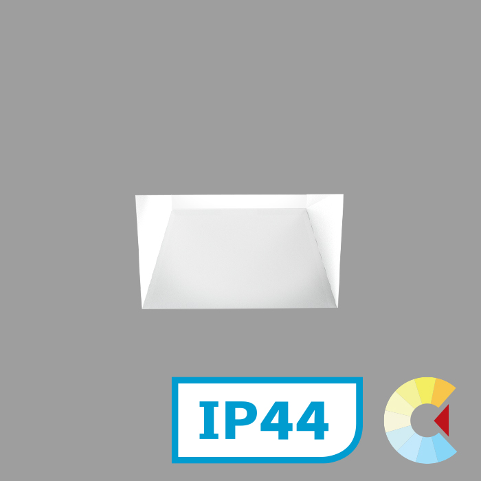 Voila 2 Adj. Downlight<br/>Square Trimless deep