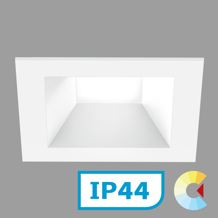Voila 4 Adj. Downlight<br/>Square Trim