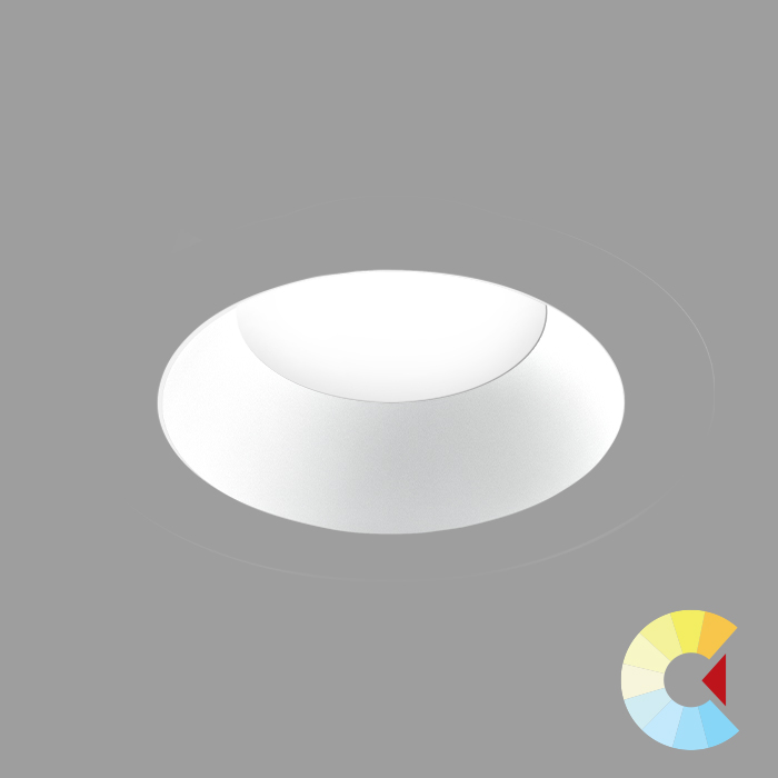 Voila 4 Adj. Downlight<br/>Round Trimless