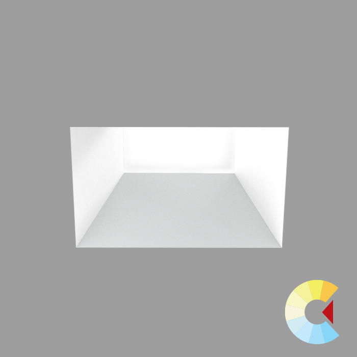Voila 4 Adj. Downlight<br/>Square Trimless